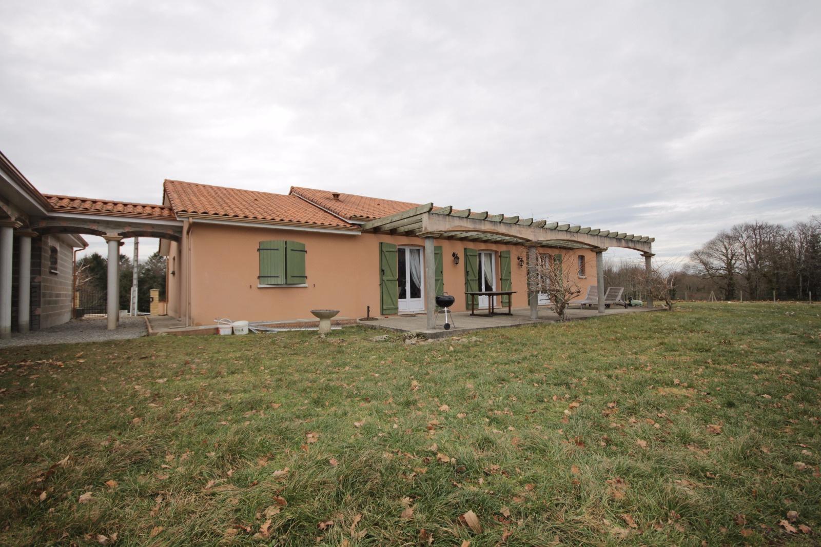 Vente maison de plain de pied avec agrandissement for Agrandissement maison 71